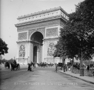 """La place de l'Étoile Paris"""