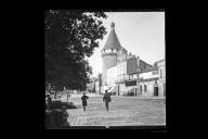 """Le donjon, tour du Grand Port, Libourne"""