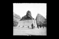 """Le Lion de Belfort, Paris"""