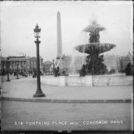 """Fontaine, place de la Concorde, Paris"""