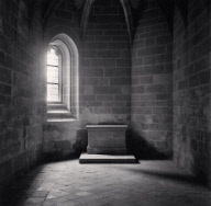 """Chapel Altar, Mont St. Michel, France. 2004"""