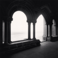 """Cloister Viewpoint, Mont St. Michel, France. 2004"""