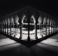 """Cloisters, Study 1, Mont St. Michel, France. 2000"""