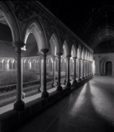 """Cloisters, Study 2, Mont St. Michel, France. 2000"""