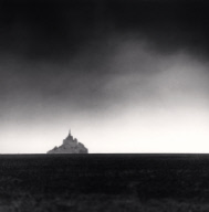 """Distant Abbey, Mont St. Michel, France. 2000"""
