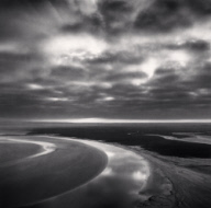 """Early Cloud Cover, Mont St. Michel, France. 1994"""
