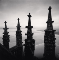 """Four Finials, Mont St. Michel, France. 2000"""