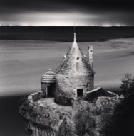 """Gabriel's Tower, Study 2, Mont St. Michel, France. 2004"""