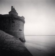 """Gabriel's Tower, Study 3, Mont St. Michel, France. 1993"""