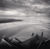 """High Viewpoint, Mont St. Michel, France. 2000"""