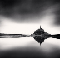 """Midday Prayer, Mont St. Michel, France. 2004"""