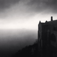 """Monastery and Tombelaine Island, Mont St. Michel, France. 1998"""