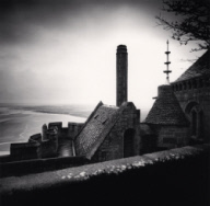 """Monastery Viewpoint, Mont St. Michel, France. 2004"""