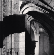 """One a.m., Mont St. Michel, France. 1998"""