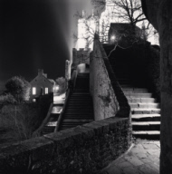 """Outer Staircase, Mont St. Michel, France. 2004"""