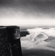 """Parapet Lookout, Mont St. Michel, France. 1998"""