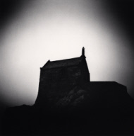 """Saint Aubert Chapel, Mont St. Michel, France. 2004"""