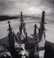 """Six p.m., Mont St. Michel, France. 2000"""
