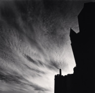 """Swirling Clouds, Mont St. Michel, France. 1994"""