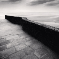 """Winding Wall, Mont St. Michel, France. 2004"""