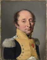 Portrait d'homme en uniforme d'officier du Ier Empire