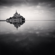 """Floating Abbey, Mont St. Michel, France. 2000"""