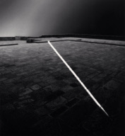 """Light Line, Mont St. Michel, France. 1994"""